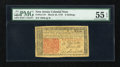 Colonial Notes:New Jersey, New Jersey March 25, 1776 6s PMG About Uncirculated 55 EPQ....