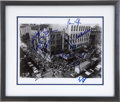 Music Memorabilia:Autographs and Signed Items, Fillmore East Photo Signed by Assorted Music Greats....