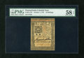 Colonial Notes:Pennsylvania, Pennsylvania October 1, 1773 10s PMG Choice About Unc 58 EPQ....