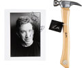 Movie/TV Memorabilia:Autographs and Signed Items, Tim Allen Hammer and Signed Photograph.... (Total: 3 Items)
