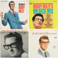 Music Memorabilia:Recordings, Buddy Holly LP Group of 4 (Coral, 1963-67).... (Total: 4 Items)