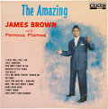 Music Memorabilia:Recordings, The Amazing James Brown and the Famous Flames LP (King 743,1961)....