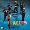 Music Memorabilia:Recordings, Cookin' With the Miracles Promo LP (Tamla 223, 1962)....