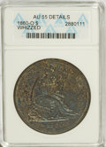 Seated Dollars: , 1860-O $1 --Whizzed--ANACS. AU55 Details. NGC Census: (34/457).PCGS Population (63/693). Mintage: 515,000. Numismedia Wsl. ...