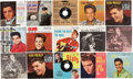 Music Memorabilia:Recordings, Elvis Presley 45 w/ Picture Sleeve Group of 12 (RCA, 1956-62).... (Total: 12 Items)