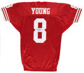 Football Collectibles:Uniforms, Steve Young Signed Jersey. ...