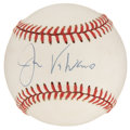 Autographs:Baseballs, Jim Valvano Single Signed Baseball. ...