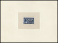 Stamps, U.S. 10c Blue, Large Die Proof (E4P1),... (Total: 1 Misc)