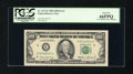 Error Notes:Ink Smears, Fr. 2171-E $100 1985 Federal Reserve Note. PCGS Gem New 66PPQ.. ...