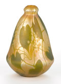 Art Glass:Tiffany , TIFFANY STUDIOS. A Millefiore Favrile Glass Vase, circa 1910.Engraved on base: L.C.T. W3302. 5-5/8 inches (14.3 cm)hig...