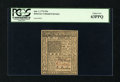 Colonial Notes:Delaware, Delaware January 1, 1776 20s PCGS Choice New 63PPQ....