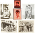 Music Memorabilia:Photos, Elvis Presley Vintage Promo Photos (c. 1956).... (Total: 6 Items)