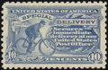 Stamps, 1914, 10c Pale Ultramarine (E9),...