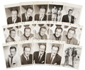 Movie/TV Memorabilia:Photos, John Wayne Vintage Keybook Stills.... (Total: 18 Items)