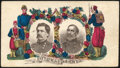 """Stamps, """"Potomac Army"""" with McClellan & Sumner portraits,..."""