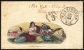 Stamps, Seated Liberty with Eagle & Shield,...