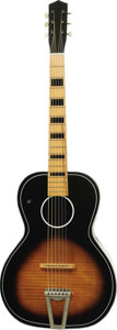 Musical Instruments:Acoustic Guitars, Elvis Presley Owned and Used Guitar.... (Total: 2 Items)