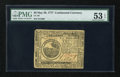 Colonial Notes:Continental Congress Issues, Continental Currency May 20, 1777 $6 PMG About Uncirculated 53EPQ....