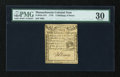 Colonial Notes:Massachusetts, Massachusetts 1779 4s/8d PMG Very Fine 30....