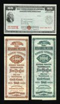Miscellaneous:Other, War Savings $25 Series E Bond Choice About Uncirculated.. ...(Total: 3 items)