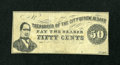 Obsoletes By State:Indiana, New Albany, (IN)- City of New Albany 50¢ . ...