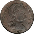 Colonials, 1786 COPPER Vermont Copper, Baby Head VF30 NGC....
