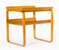 Furniture , ALVAR AALTO FOR FINMAR. A Birch Occasional Table, circa 1931. 23-3/8 x 23-1/8 x 19-3/4 inches (59.2 x 58.7 x 50.2 cm). ...