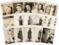 Movie/TV Memorabilia:Photos, Loretta Young Vintage Keybook Stills (1935-46).... (Total: 30Items)