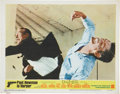 Movie/TV Memorabilia:Autographs and Signed Items, Paul Newman Signed Harper Lobby Card....