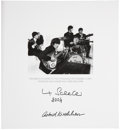 Music Memorabilia:Autographs and Signed Items, Beatles Related - Max Scheler and Astrid Kirchherr Signed GoldenDreams Limited Edition....