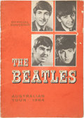 Music Memorabilia:Memorabilia, The Beatles 1964 Australian Tour Book....