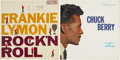 Music Memorabilia:Recordings, Chuck Berry and Frankie Lymon LP Group of 2 (1958-59).... (Total: 2Items)
