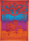 Music Memorabilia:Posters, The Who Hollywood Palladium Concert Poster (Magic Circus, 1969).....