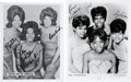 Music Memorabilia:Autographs and Signed Items, Martha & The Vandellas and The Chiffons Signed Photos....(Total: 2 Items)