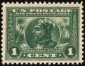 Stamps, 1c Panama-Pacific (397),...