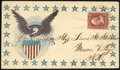 """Stamps, Eagle & Shield and """"Love One Another"""",..."""