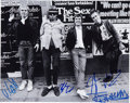 Music Memorabilia:Autographs and Signed Items, Sex Pistols Band-Signed Photo....