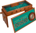 Movie/TV Memorabilia:Memorabilia, Glenn Ford's Gaming Table and Dart Board.... (Total: 2 Items)
