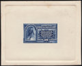 Stamps, 1885, 10c Blue, Large Die Proof in Blue (E1P1),...