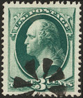 Stamps, 3c Green (147),...
