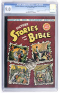 Golden Age (1938-1955):Religious, Picture Stories from the Bible Complete New Testament #1 (40¢)Gaines File Copy pedigree 6/12 (EC, 1945) CGC VF/NM 9.0 Off-whi...