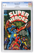 Silver Age (1956-1969):Superhero, Super Heroes #3 File Copy (Dell, 1967) CGC VF/NM 9.0 Off-white pages....
