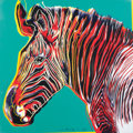 Fine Art - Work on Paper:Print, ANDY WARHOL (American, 1928-1987). Grevy's Zebra, 1983.Published in the portfolio Endangered Species. Screenprinti...