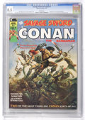 Magazines:Adventure, Savage Sword of Conan #1 (Marvel, 1974) CGC VF+ 8.5 White pages....