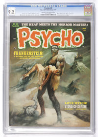 Psycho #3 (Skywald, 1971) CGC NM- 9.2 Cream to off-white pages