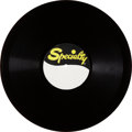 Music Memorabilia:Recordings, Little Richard Acetate (Speciality, circa 1956). ...