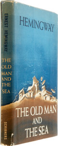 Books:First Editions, Ernest Hemingway. First Edition and First Appearance of The OldMan and the Sea, including: Life Magazine....