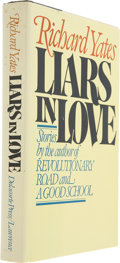 Books:Signed Editions, Richard Yates. Liars in Love. [New York]: Delacorte Press,[1981]. First edition. Inscribed by Yates. Binding li...