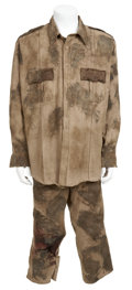 Movie/TV Memorabilia:Costumes, Resident Evil: Extinction Screenworn Policeman Zombie Outfit.... (Total: 2 Items)