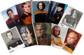Movie/TV Memorabilia:Autographs and Signed Items, Star Trek Cast-Signed Head Shots.... (Total: 10 Items)